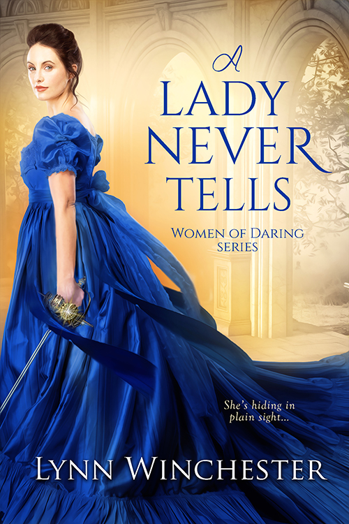 Book Cover - A Lady Never Tells by Lynn Winchester