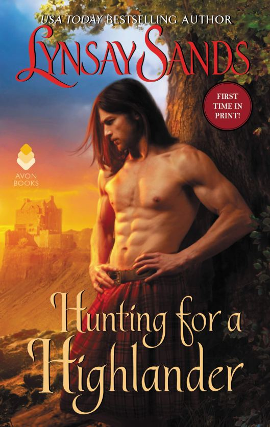 Book Cover - Hunting For a Highlander by Lynsay Sands