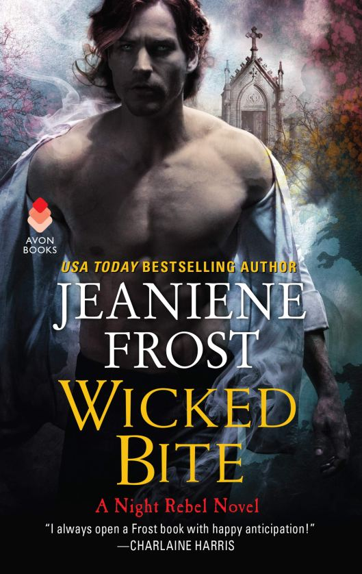 Book Cover - Night Rebel 3.0 - Wicked Bite by Jeaniene Frost