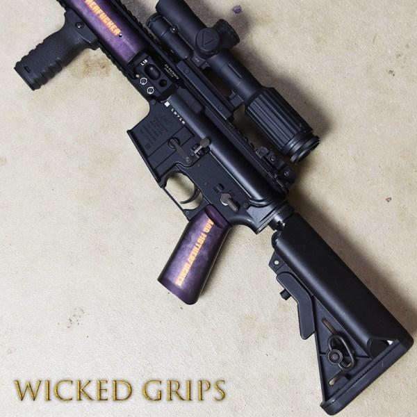 Custom Ar 15 Pistol Grip - Year of Clean Water