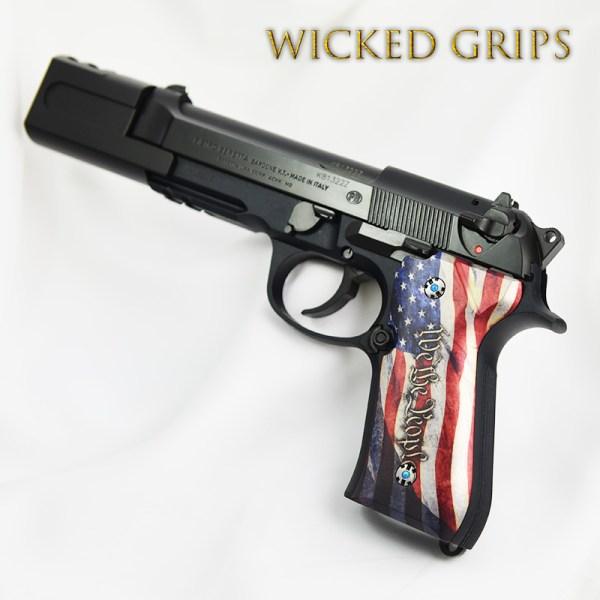 Beretta 92fs - Wicked Grips Custom Handgun Pistol