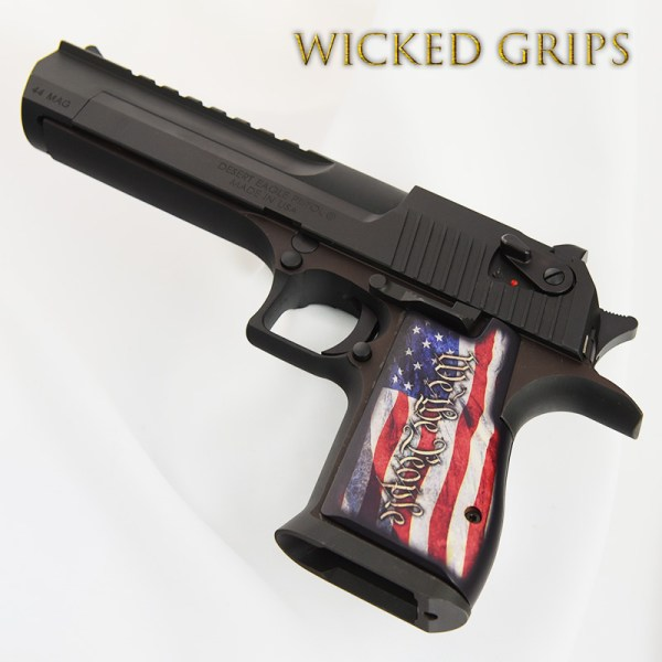 Desert Eagle Grips People Ver 4 - Wicked