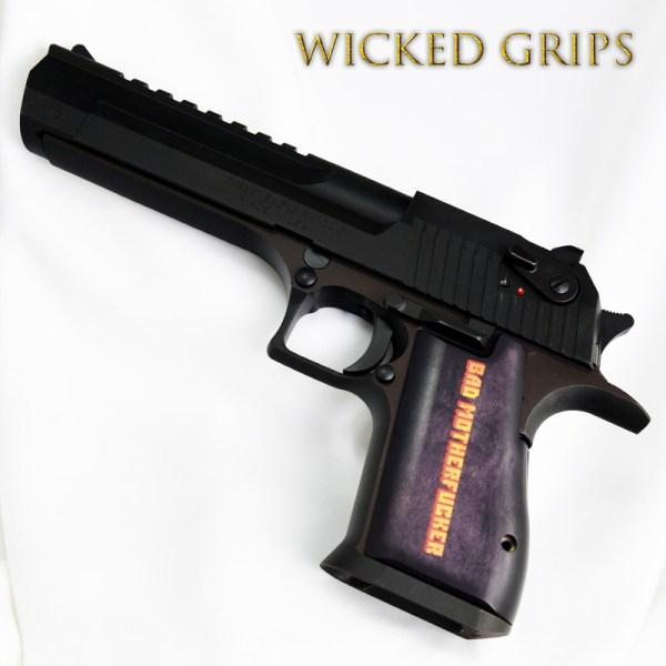 Custom Desert Eagle Grips Bmf Ver 2 - Wicked