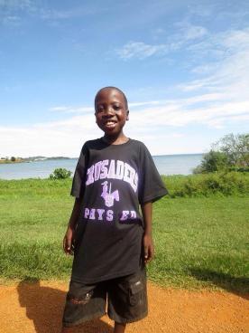 John (Ben) Kasita, George Street Middle School's sponsor child.