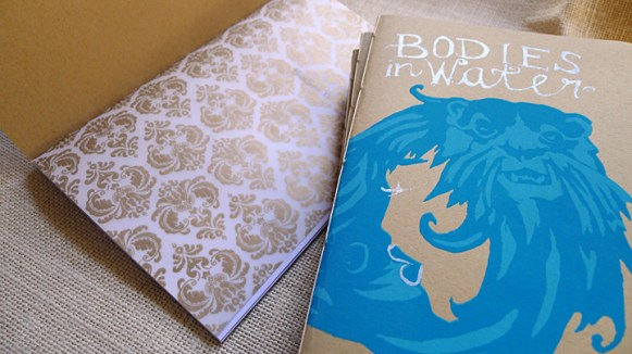 Bodies in Water, cover & end paper