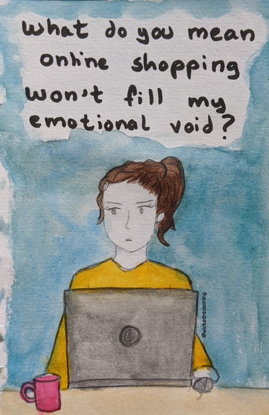 online shopping emotional void