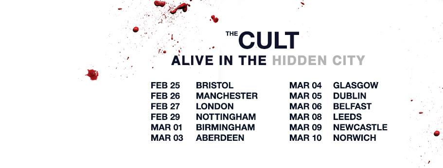 Live Review The Cult Brixton Academy 27th Feb Wicked Spins Radio