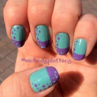 nail polish designs with two colors nail polish designs ...