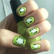 summer fruits kiwi nails wicked