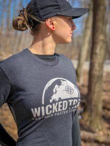 Black Wicked Trail Running shirt