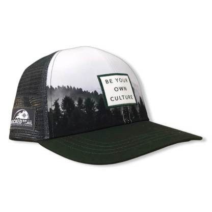 Be Your Own Culture trucker green