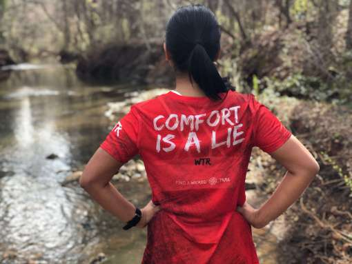 comfort-is-a-lie-ultra-marathon-tech-tee