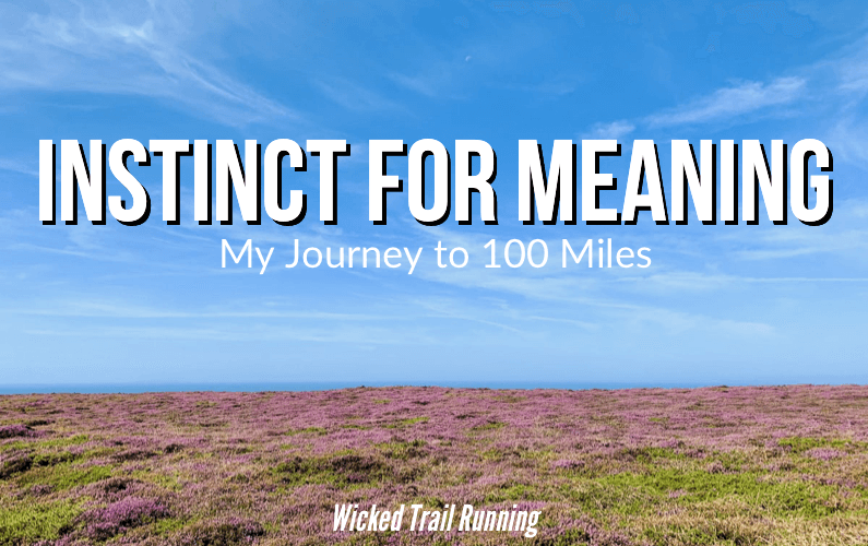 Instinct For Meaning: My Journey to 100 Miles