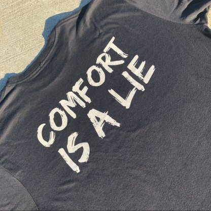 Black Wicked Trail Running Strength Tee Comfort Is A Lie