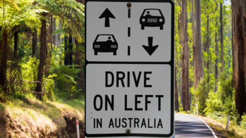 Self Drive - Drive on the Left in Australia