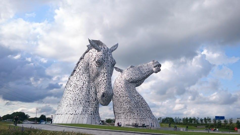 The Helix, Water Horse Sculptures, Falkirk