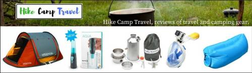 Hike Camp Travel, reviews of travel and camping gear.