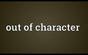 Prompt #387: Out of character