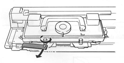 carriage bracket