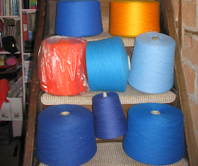 fine industrial coned yarn