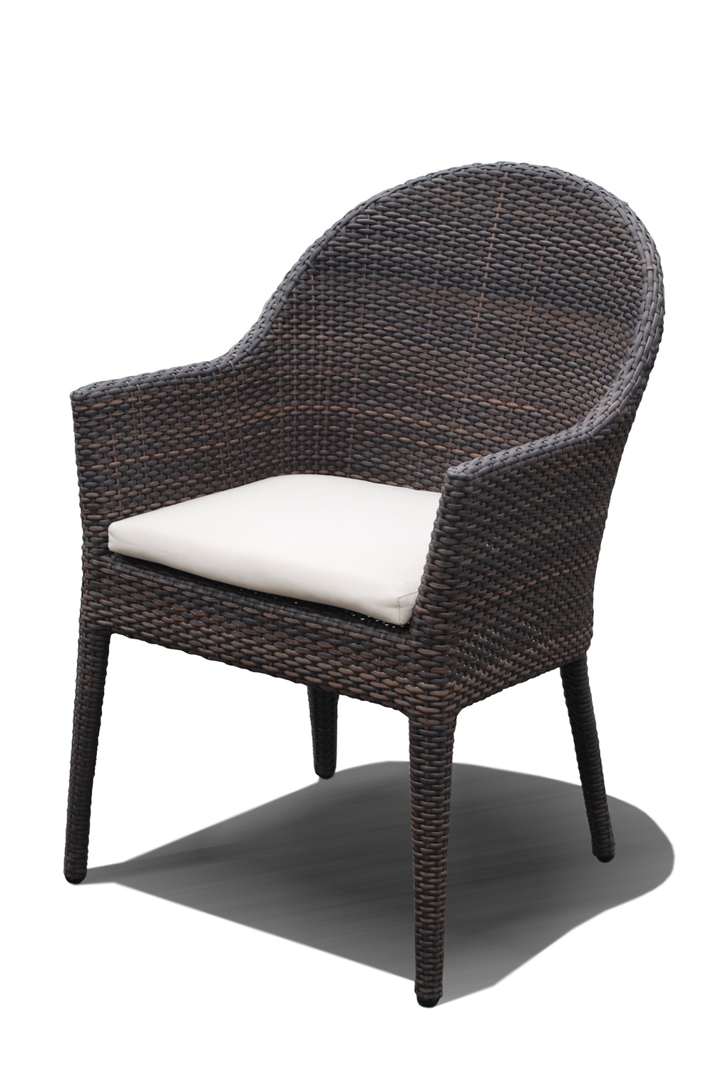 Outdoor Wicker Dining Chairs Hospitality Rattan Kenya Wicker Dining Chair
