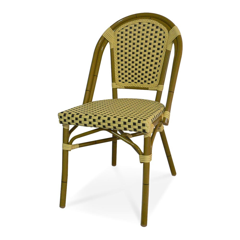 Outdoor Wicker Dining Chairs Source Outdoor Paris Armless Wicker Dining Chair