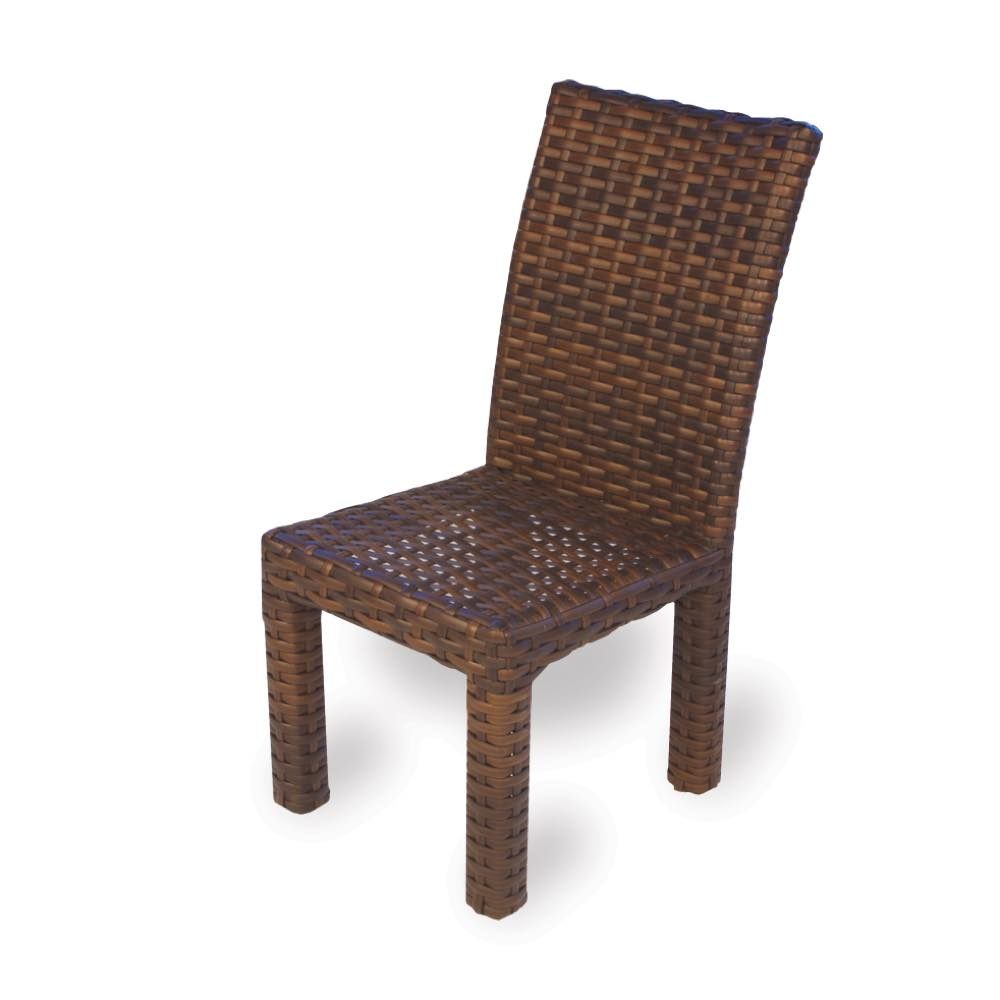 Wicker Outdoor Dining Chairs Lloyd Flanders Contempo Outdoor Dining Chair