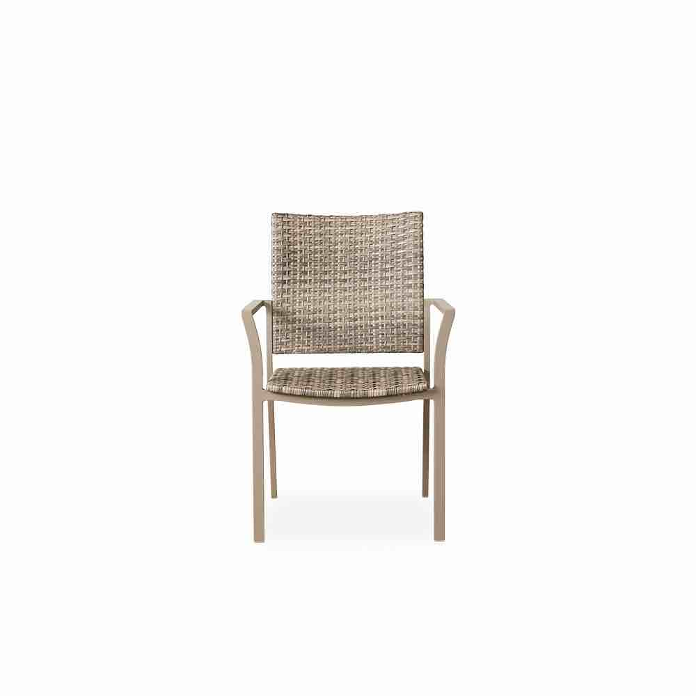Wicker Outdoor Dining Chairs Lloyd Flanders Martinique Outdoor Wicker Dining Armchair