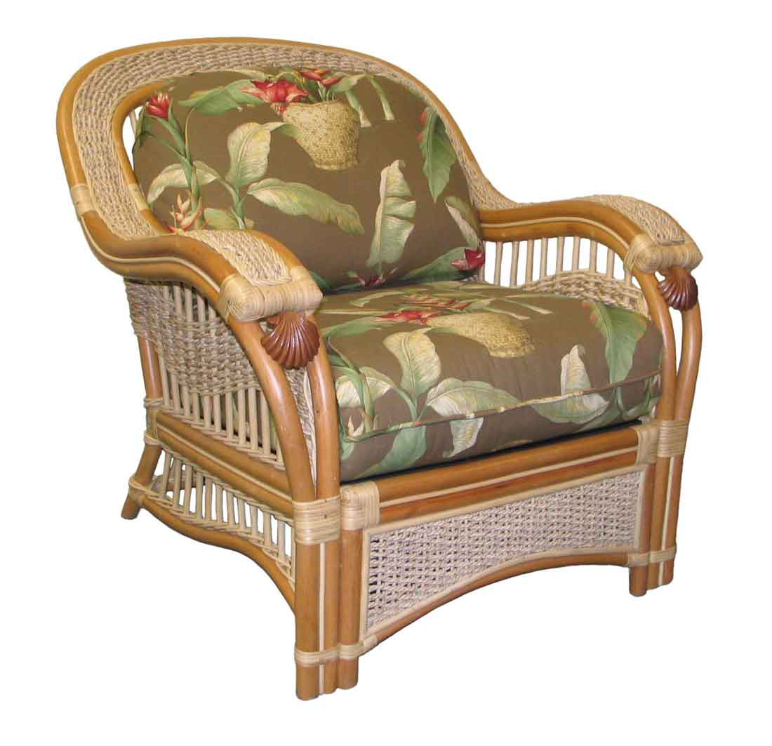Wicker Rattan Chair Mariner Natural Rattan Wicker Chair