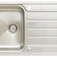 Compact Kitchen Sink Small Bar Astracast Elise 1 Bowl Stainless Steel Wickes Co Uk
