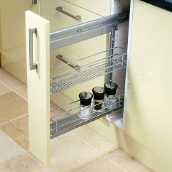 Kitchen Cabinet Stores Near Me Small With Dining Table Wickes 2-tier Steel Storage Basket - 150mm | Wickes.co.uk