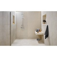 Wickes Mayfield Beige Ceramic Tile 500 x 300mm | Wickes.co.uk