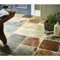 Wickes Slate Natural Stone Tile 300 x 300mm | Wickes.co.uk
