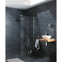Wickes Slate Riven Grey Natural Stone Tile 300 x 300mm ...