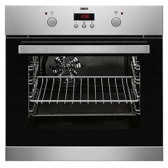 Kitchen Ovens Cabinet Reface Appliances Wickes Co Uk Zanussi Single Multifunction Stainless Steel Electric Fan Oven Zzb25602xv