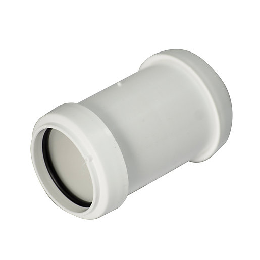 Wickes Pushfit Pipe Connector 32mm