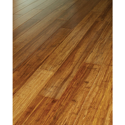 Westco Stranded Bamboo Solid Wood Flooring Deal at Wickes
