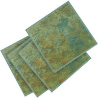 Wickes Vinyl Tiles Slate Effect 305 x 305mm 11 Pack ...