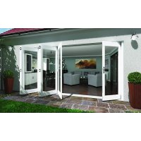 Tri Fold Patio Doors. Tri Fold French Doors Exterior With ...