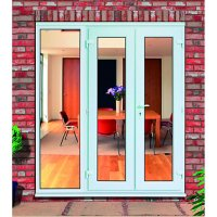 Wickes Upvc French Doors 8ft with 1 Side Panel 600mm ...