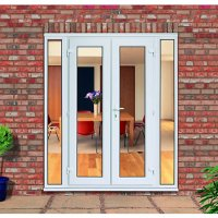 Wickes Upvc French Doors 8ft with 2 Demi Panels 300 ...