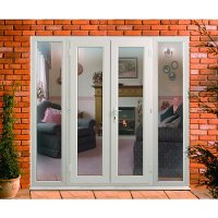 Wickes Upvc French Doors 8ft with 2 Side Panels 600mm ...