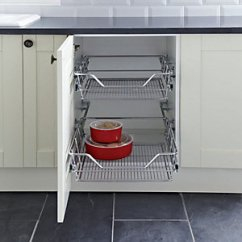 Kitchen Wire Storage Ninja Mega System Reviews Bins Accessories Wickes Co Uk Pull Out Shelves 600mm