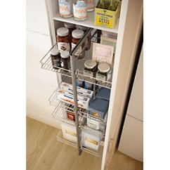 Kitchen Pull Out Shelves Easy Design Software Free Download Wickes Larder 3 4 Height 600mm Co Uk