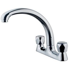Kitchen Taps Dining Sets Wickes Trade Deck Sink Mixer Tap Chrome Co Uk