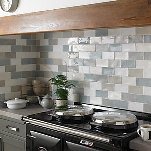 kitchen wall tiles cute decor wickes farmhouse willow ceramic tile 150 x 75mm co uk