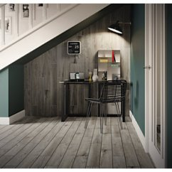 Gray Tile Kitchen Floor Mat Wall Tiles Wickes Co Uk Selwood Weathered Grey Wood Effect Porcelain 900 X 150mm