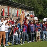 Nepali Fans at VRA Ground