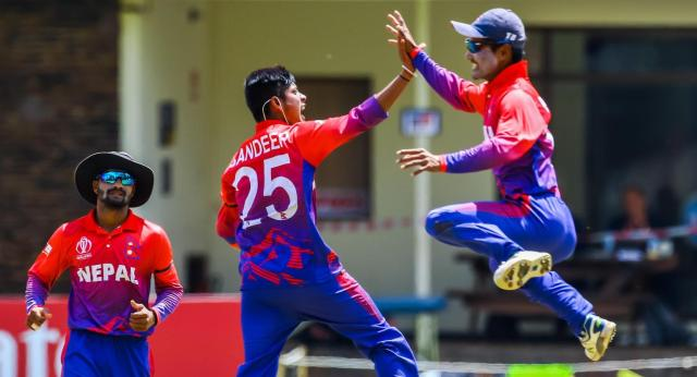 Nepal beat Papua New Guinea
