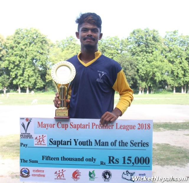 Player of the Series - Bivek Yadav